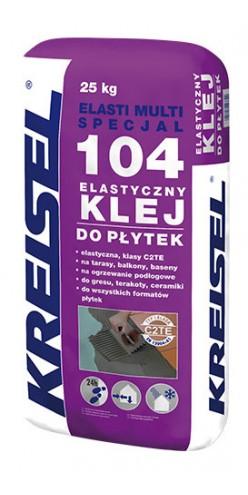Эластичный универсальный клей для плитки ELASTI MULTI SPECIAL 104 Kreisel